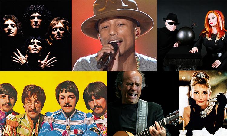 En el concierto interpretaremos canciones de estos artistas.